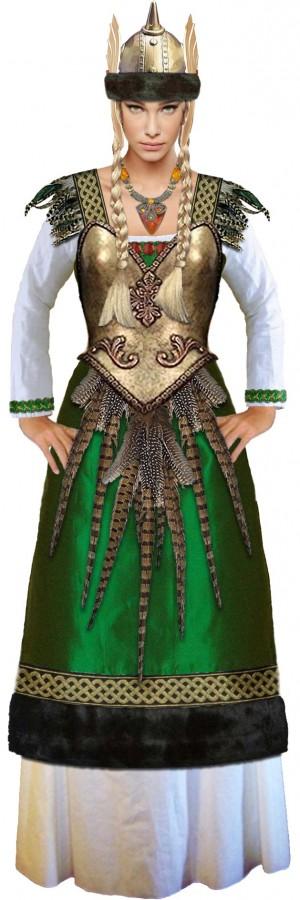 Freyja costume