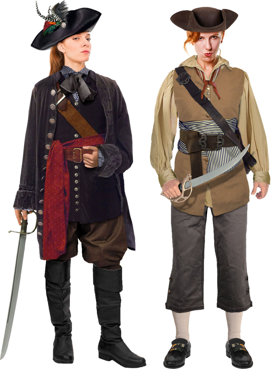 pirates of the caribbean (for real): anne bonny and mary read | take
