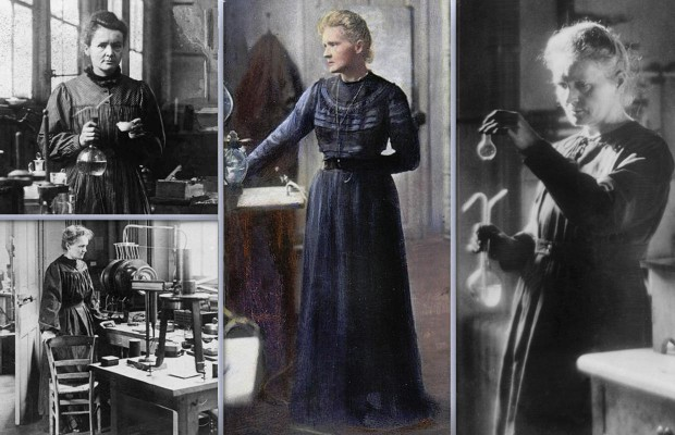 Marie Curie costume page