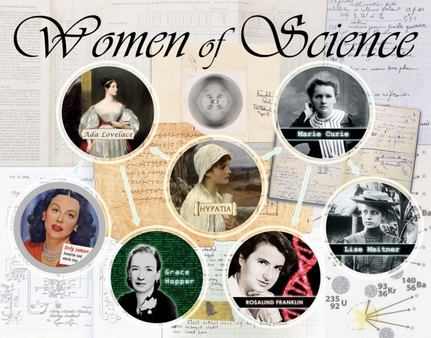 Women of Science:  available as a digital download, 8x10 print, or 11x14 print.