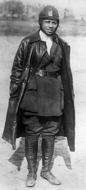 Bessie Coleman circa 1922
