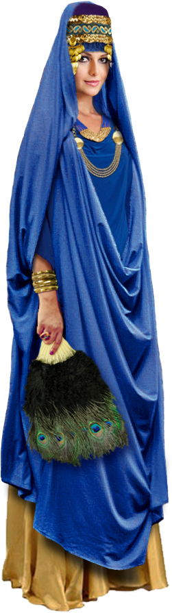 Queen Esther costume