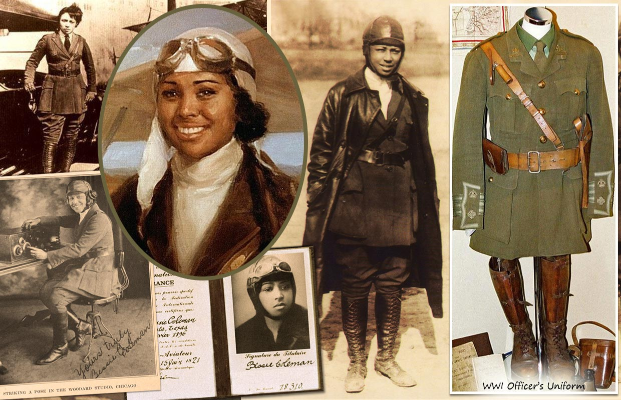 bessie coleman Bessie coleman - bessie coleman is a very brave person she is the first black woman aviator and the first woman to have her international aviation license she is the first black woman aviator and the first woman to have her international aviation license.