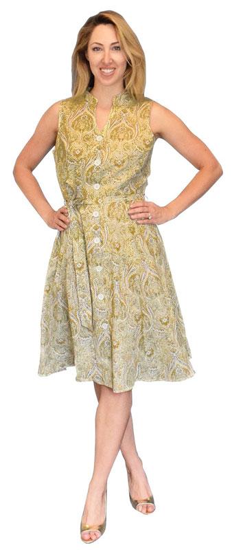 June carter yellow dress
