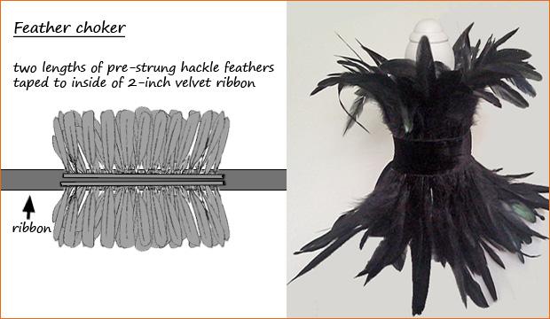feather-choker
