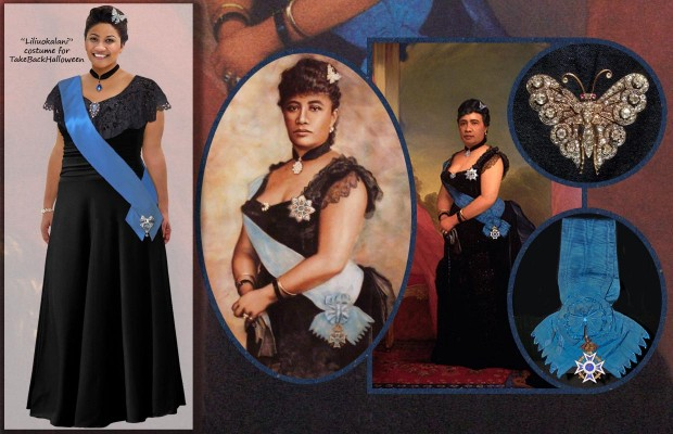 Liliuokalani costume page
