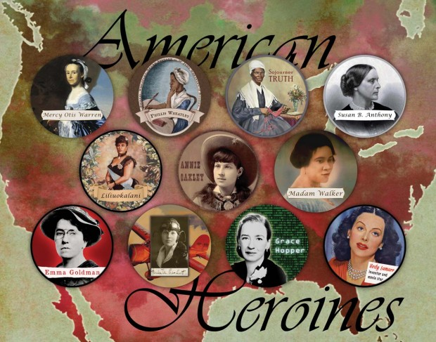 American Heroines: available as a digital download, 8x10 print, or 11x14 print.
