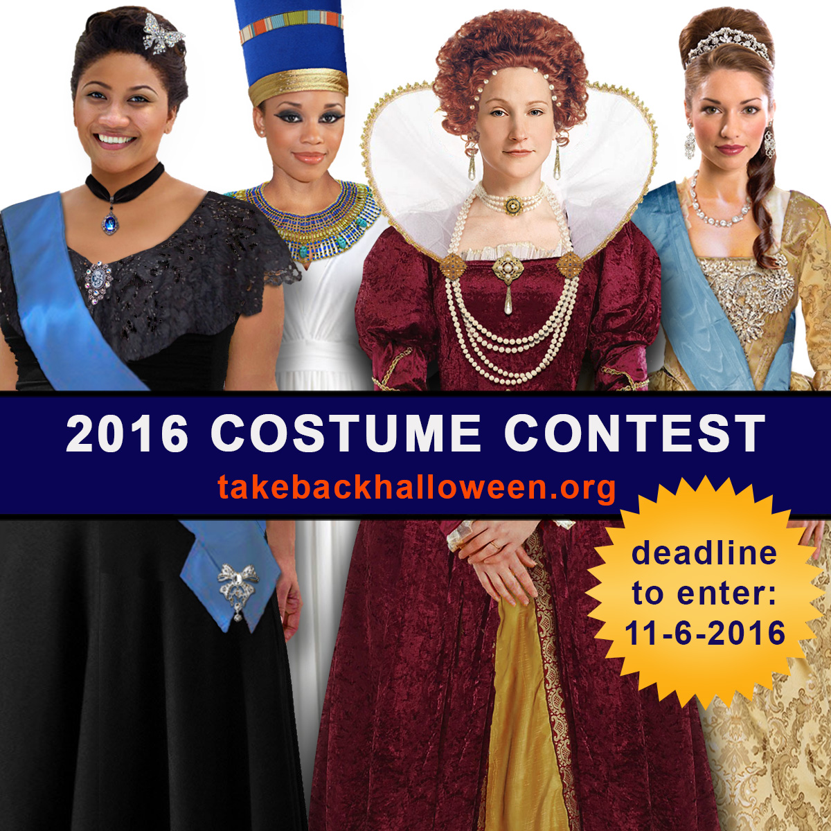 Take Back Halloween 2016 Costume Contest